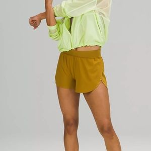 """BNWT⎜Lululemon⎜Find Your Pace Lined High-Rise Short 3""""⎜GOLD SPICE"""